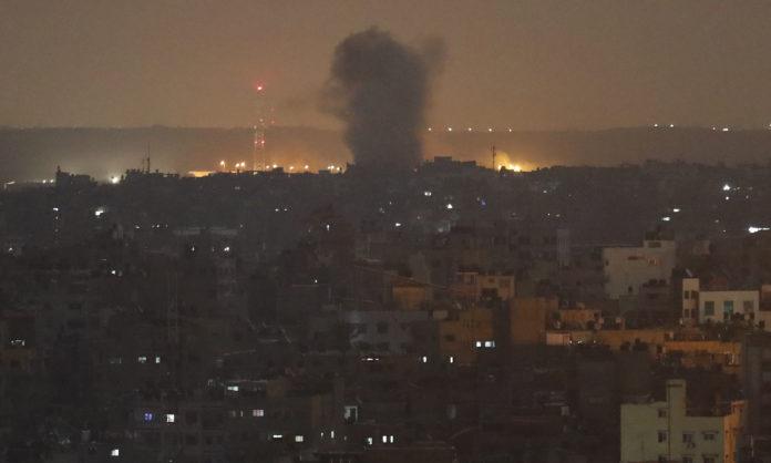 Israel Strikes Gaza, Syria After Palestinian Rockets Attacks