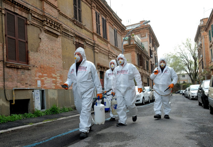 The Latest On The Coronavirus Pandemic