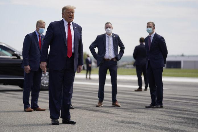Trump Says He'll Replenish Stockpile For Future Pandemics