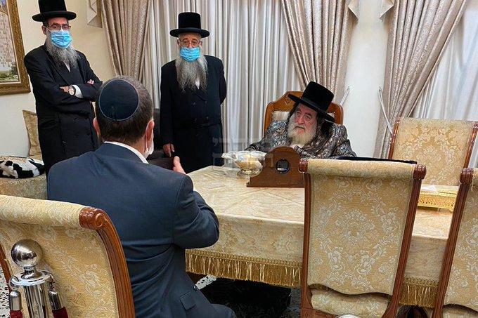 Vizhnitz Rebbe Tells Health Minister: 'It's A Torah Commandment To Wear Mask' 1