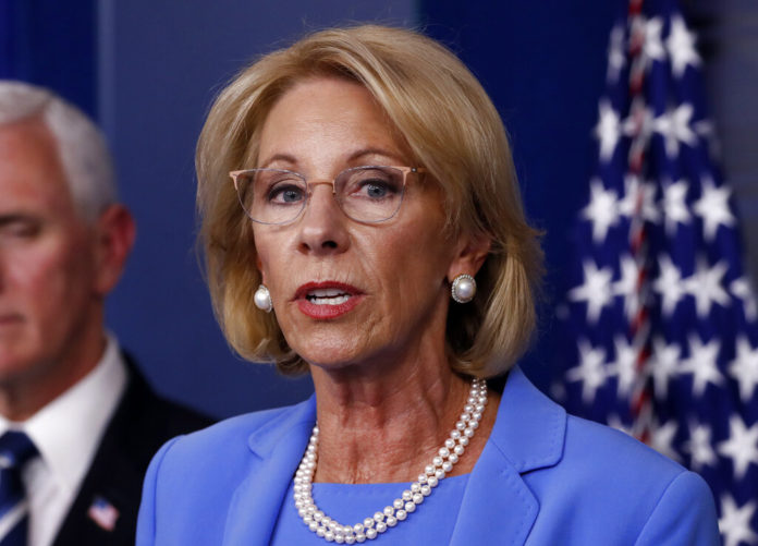 DeVos Issues Rule Steering More Virus Aid To Private Schools 1