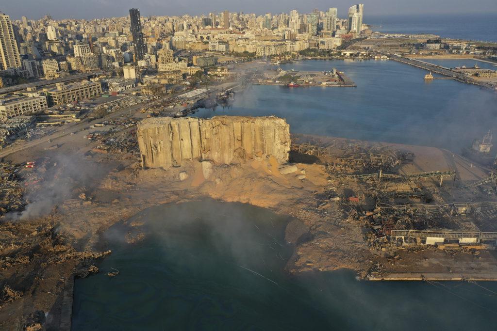 PHOTOS: Lebanese Confront Devastation After Massive Beirut Explosion 2