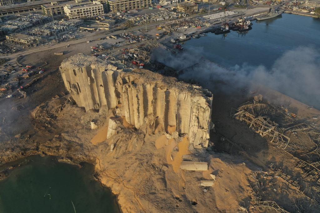 PHOTOS: Lebanese Confront Devastation After Massive Beirut Explosion 4