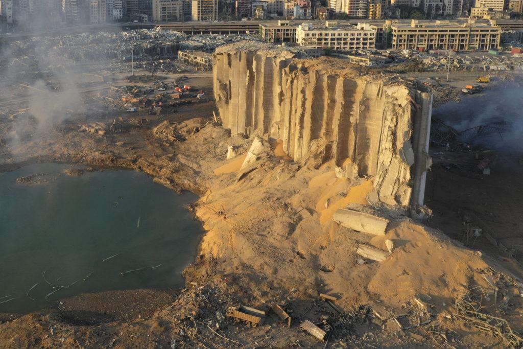 PHOTOS: Lebanese Confront Devastation After Massive Beirut Explosion 7