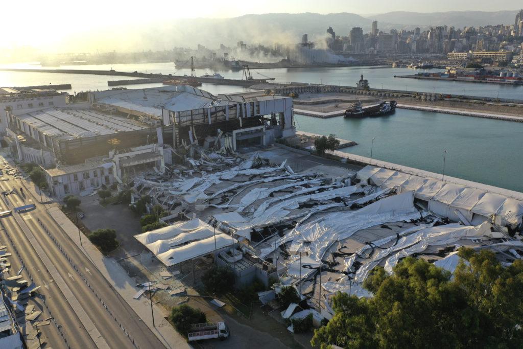 PHOTOS: Lebanese Confront Devastation After Massive Beirut Explosion 8