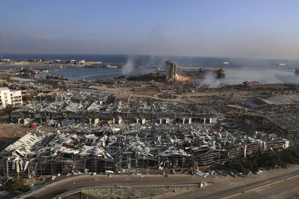 PHOTOS: Lebanese Confront Devastation After Massive Beirut Explosion 9