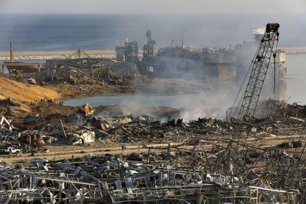 PHOTOS: Lebanese Confront Devastation After Massive Beirut Explosion 15