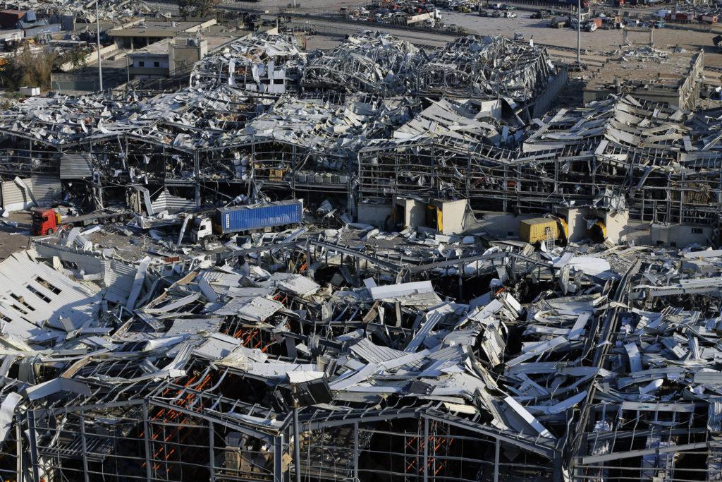 PHOTOS: Lebanese Confront Devastation After Massive Beirut Explosion 16