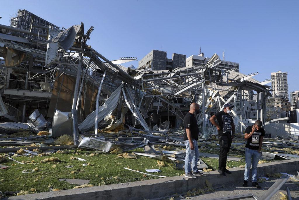 PHOTOS: Lebanese Confront Devastation After Massive Beirut Explosion 18