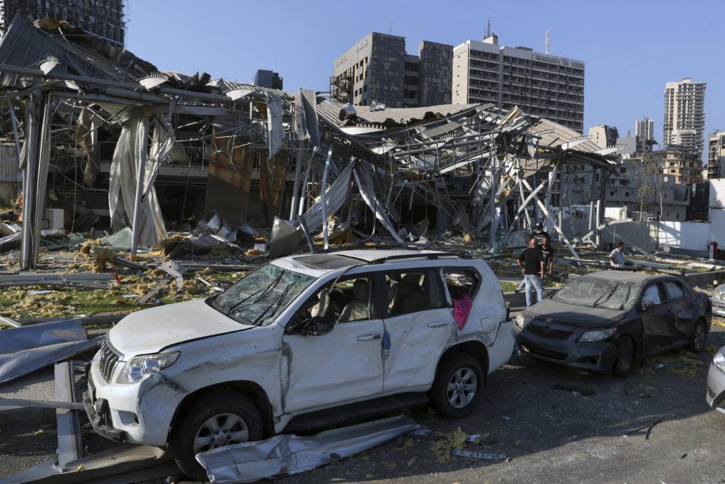 PHOTOS: Lebanese Confront Devastation After Massive Beirut Explosion 19