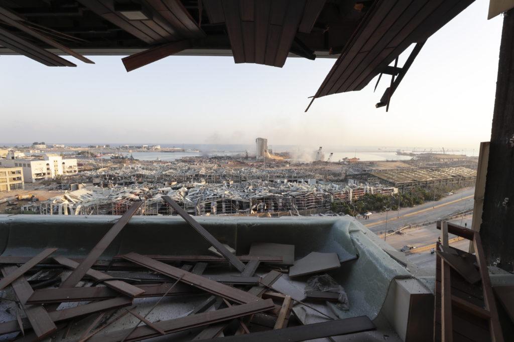 PHOTOS: Lebanese Confront Devastation After Massive Beirut Explosion 20