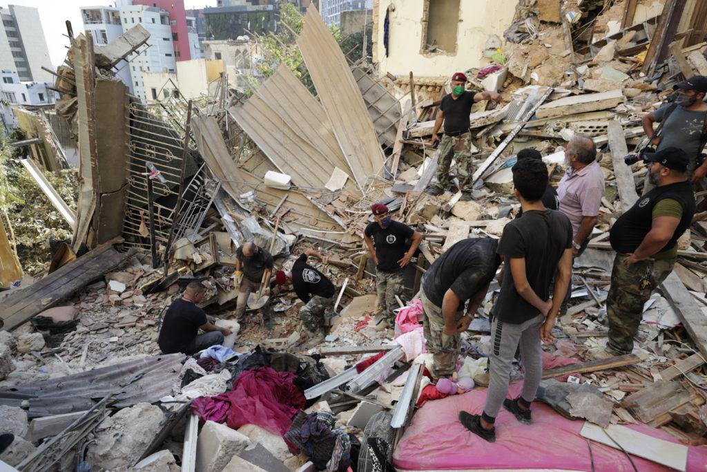PHOTOS: Lebanese Confront Devastation After Massive Beirut Explosion 22