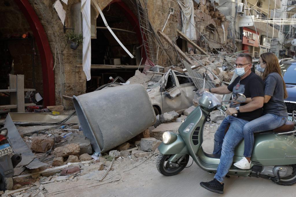PHOTOS: Lebanese Confront Devastation After Massive Beirut Explosion 23