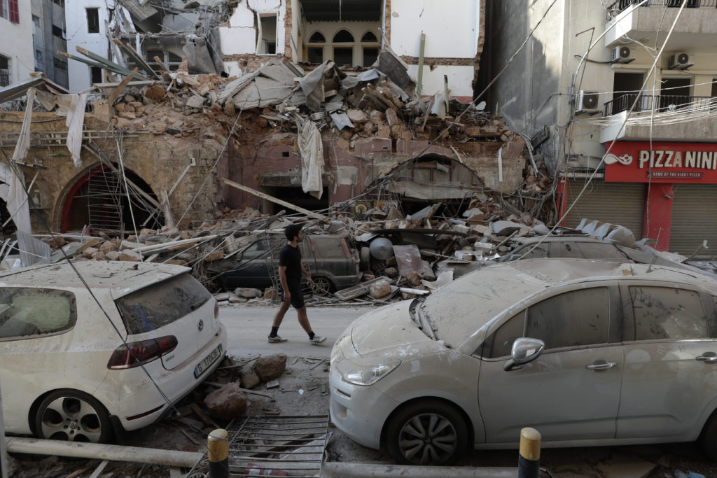 PHOTOS: Lebanese Confront Devastation After Massive Beirut Explosion 24