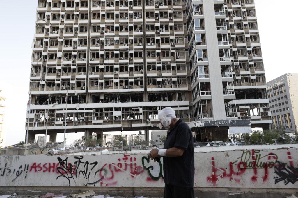 PHOTOS: Lebanese Confront Devastation After Massive Beirut Explosion 25