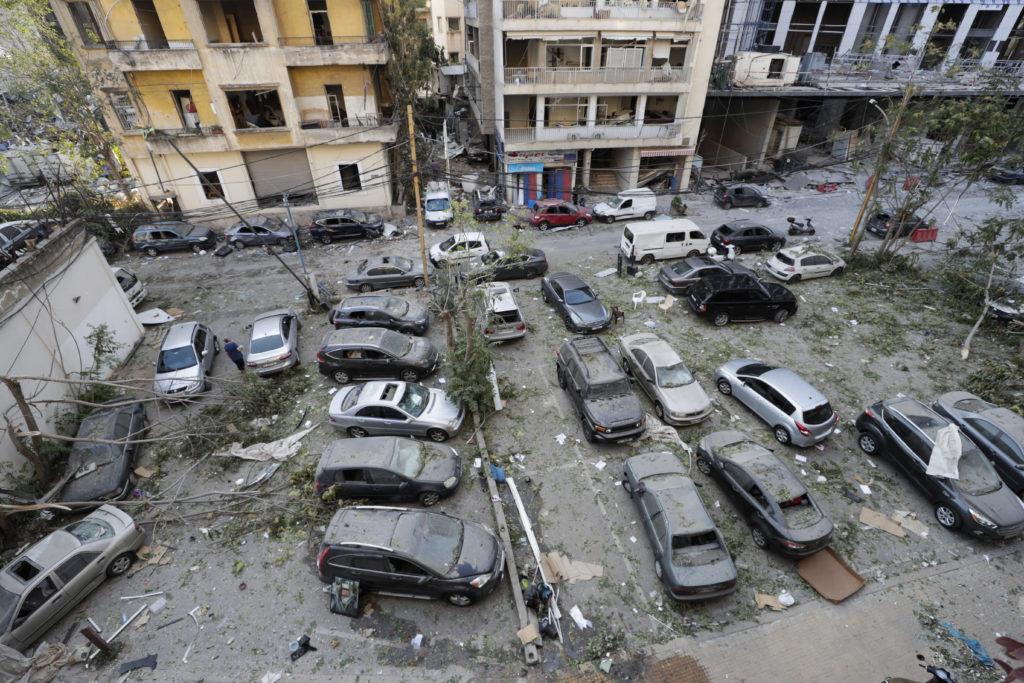 PHOTOS: Lebanese Confront Devastation After Massive Beirut Explosion 26