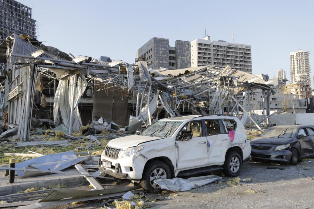 PHOTOS: Lebanese Confront Devastation After Massive Beirut Explosion 27