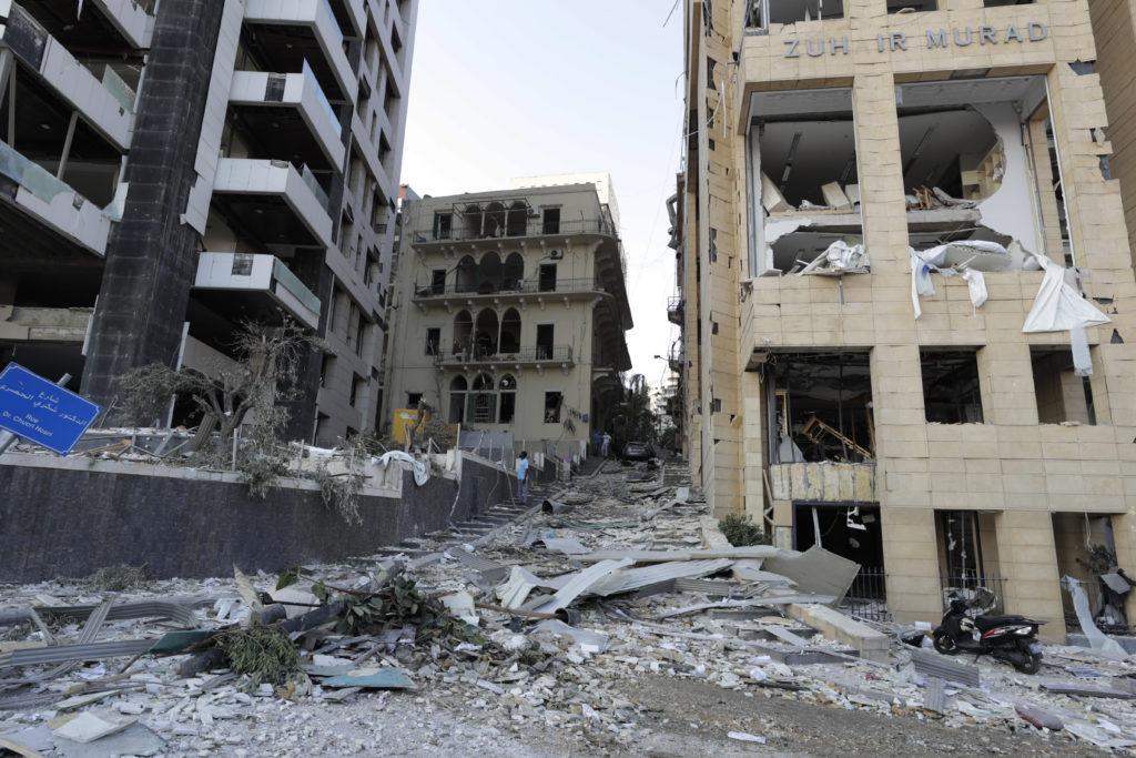 PHOTOS: Lebanese Confront Devastation After Massive Beirut Explosion 28