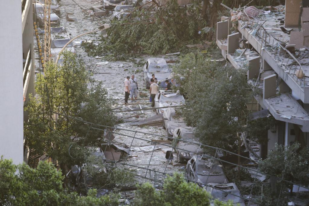 PHOTOS: Lebanese Confront Devastation After Massive Beirut Explosion 29