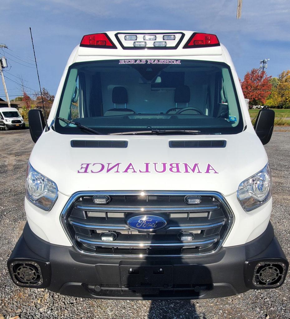 At Long Last, Ezras Nashim Debuts First State of The Art Ambulance 5