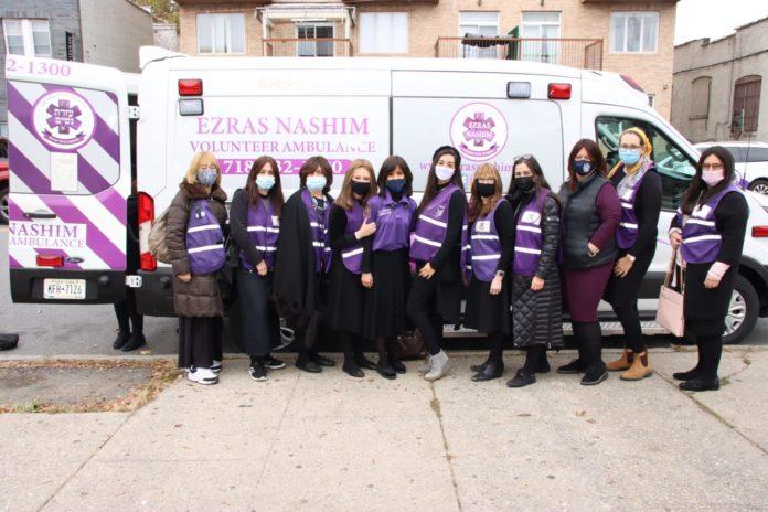 At Long Last, Ezras Nashim Debuts First State of The Art Ambulance 1