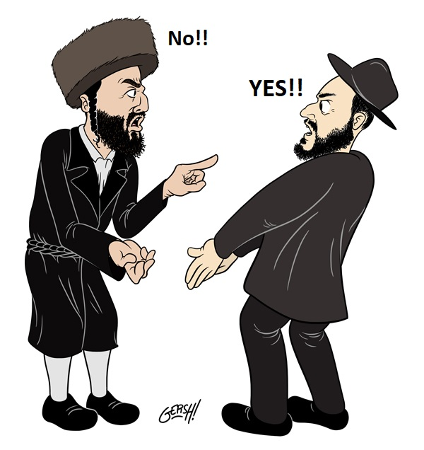 Chassidim versus Misnagdim – Tonight! 1