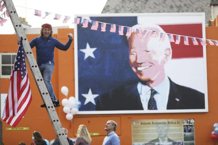 Biden's Ancestral Home in Ireland Celebrates His Victory