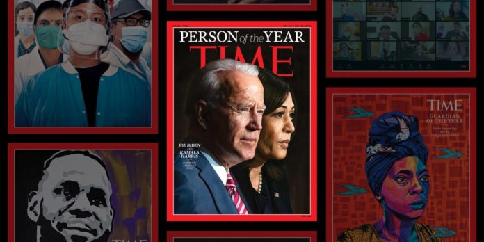 Biden, Harris Named Time Magazine's 'Person Of The Year'