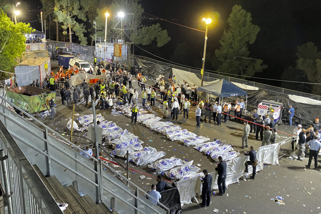 Photos of The Lag B'Omer Tragedy 14