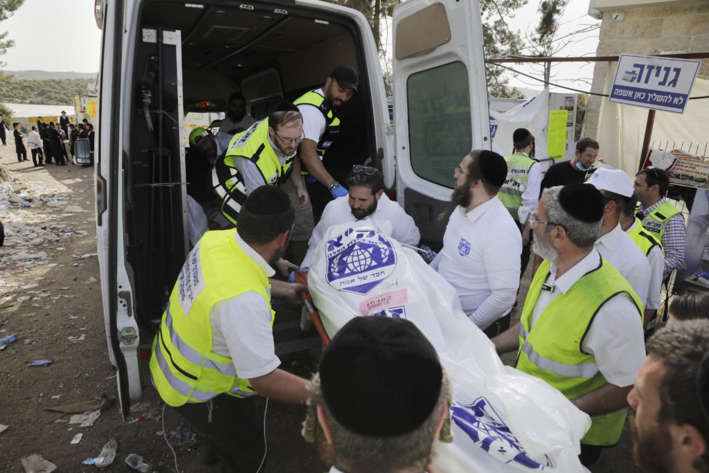 Photos of The Lag B'Omer Tragedy 21