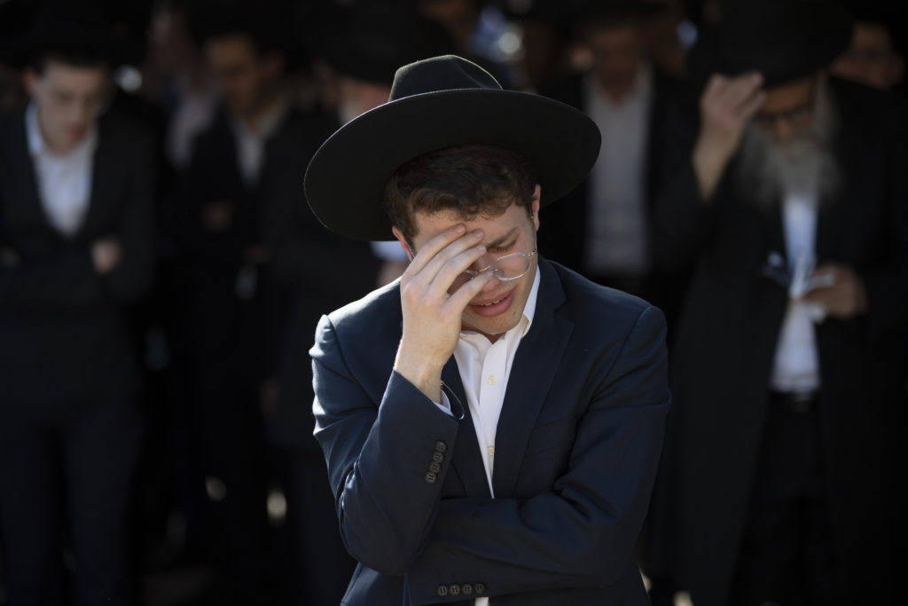 Photos of The Lag B'Omer Tragedy 35