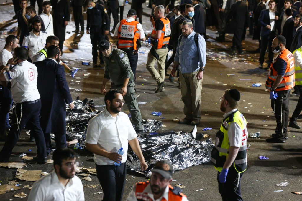 Photos of The Lag B'Omer Tragedy 36