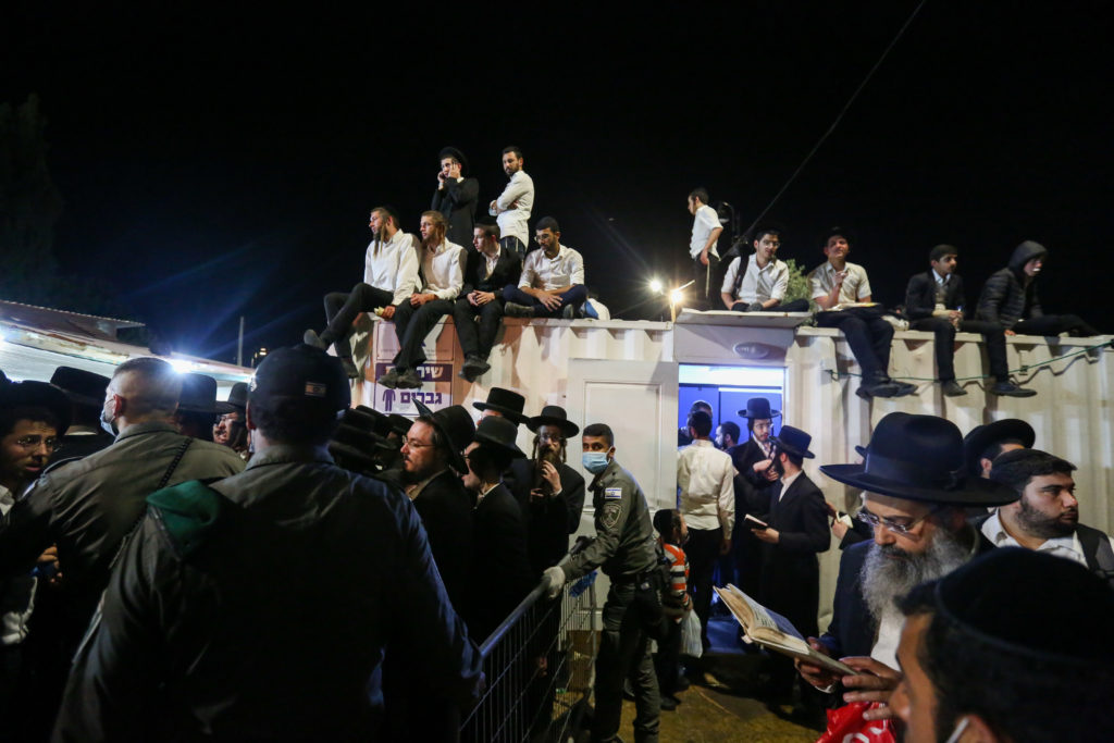 Photos of The Lag B'Omer Tragedy 37