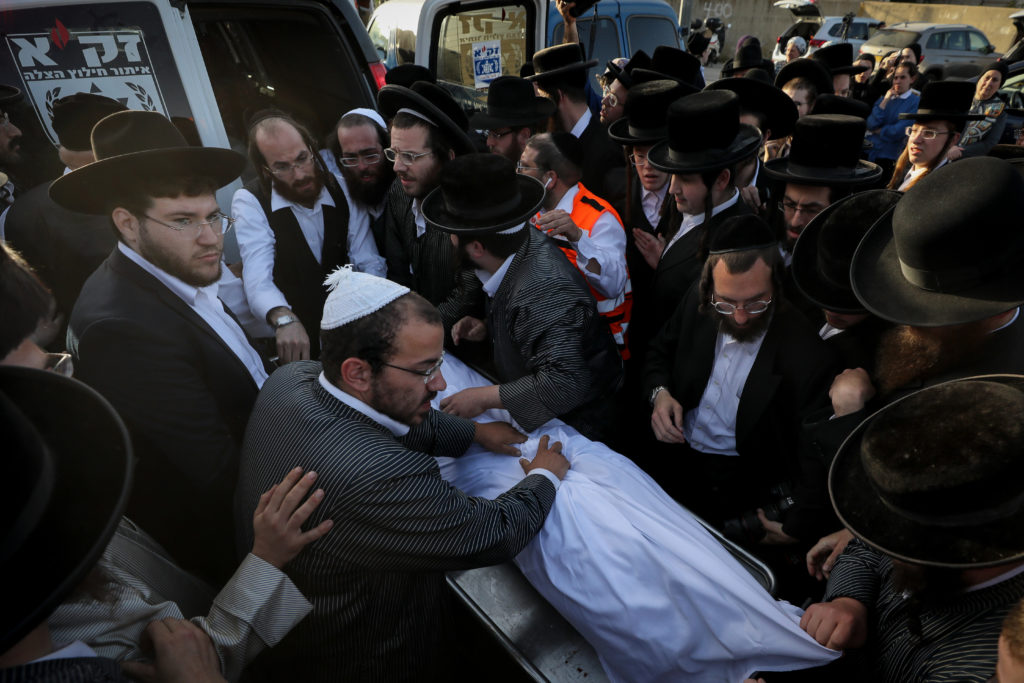 Photos of The Lag B'Omer Tragedy 58
