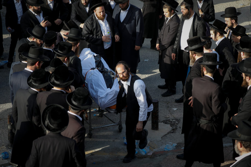 Photos of The Lag B'Omer Tragedy 59