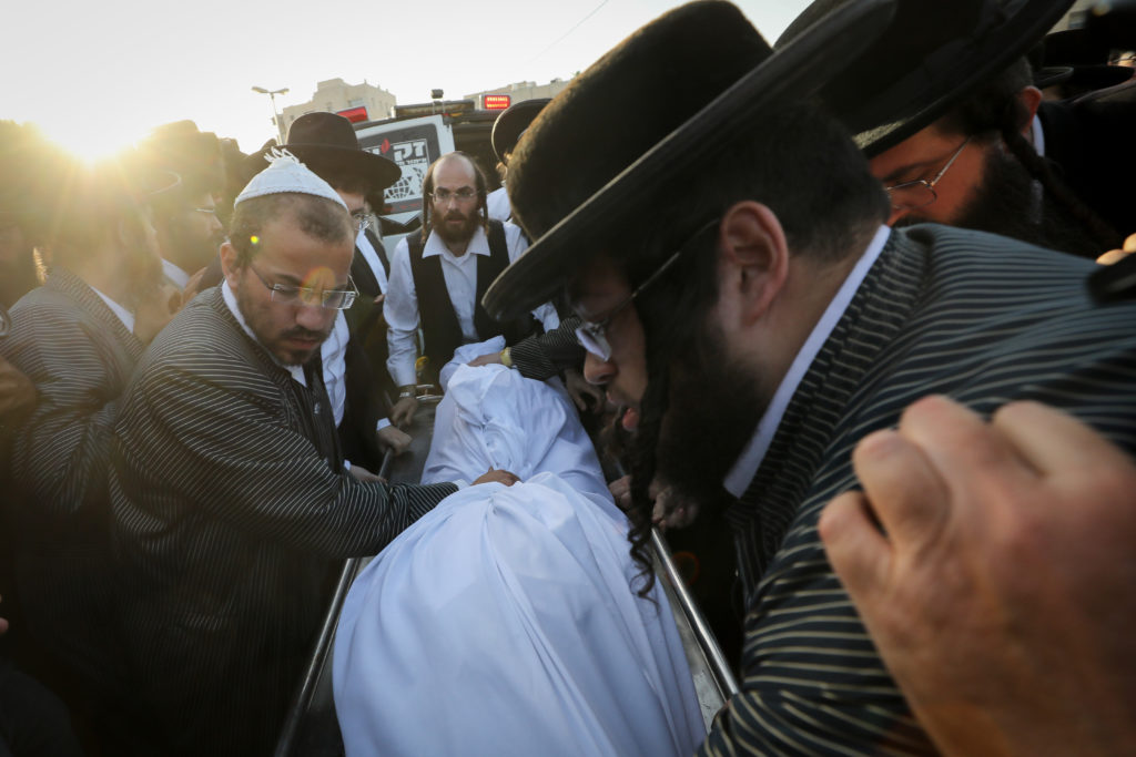 Photos of The Lag B'Omer Tragedy 60