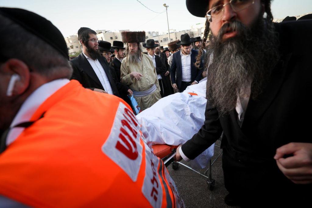 Photos of The Lag B'Omer Tragedy 61