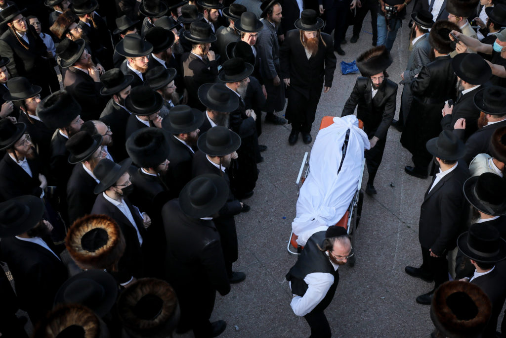 Photos of The Lag B'Omer Tragedy 63
