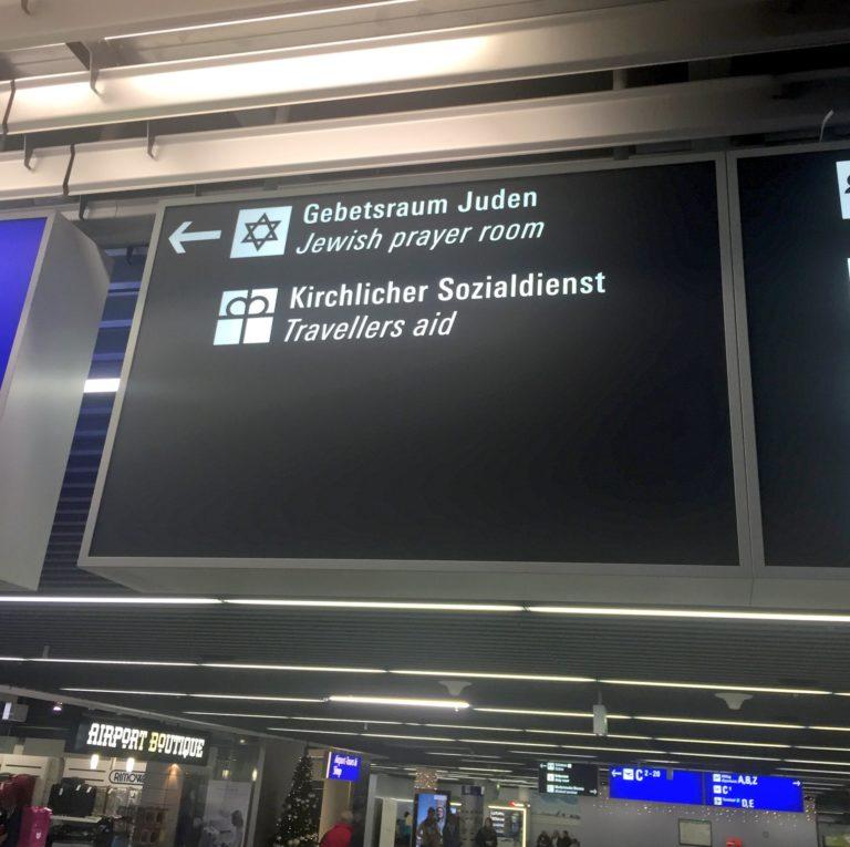 Torah Ark Desecrated Inside Frankfurt Airport Prayer Room
