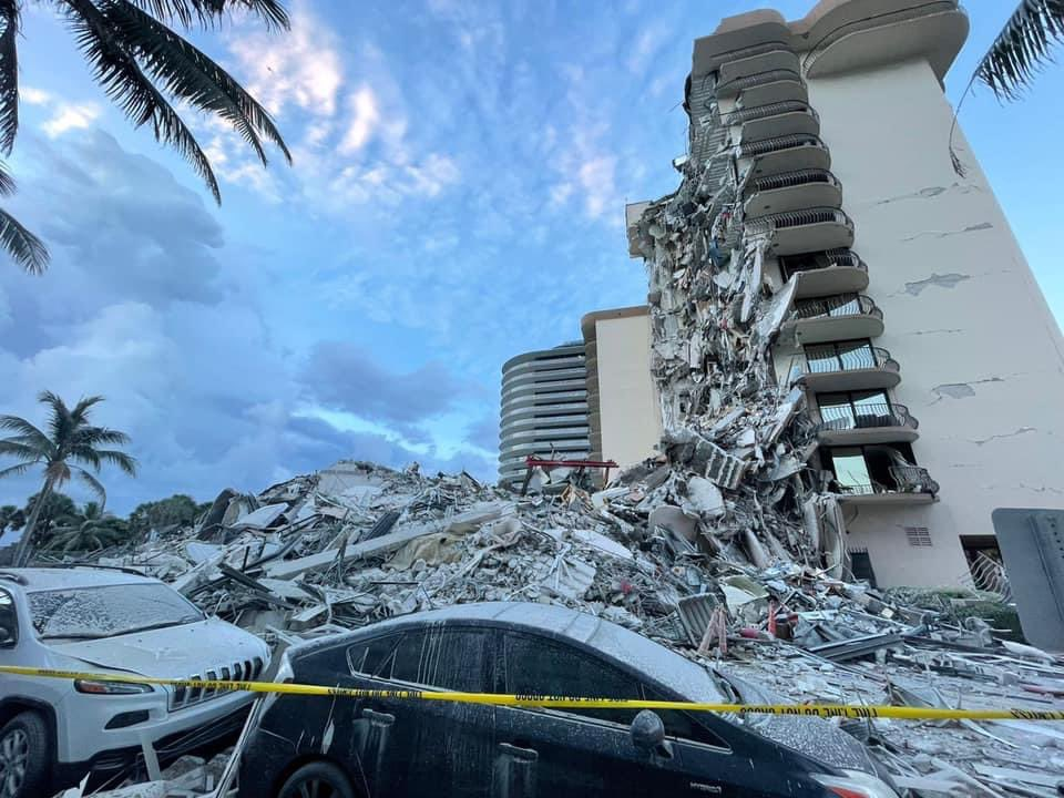 Mass Fatalities Feared In Surfside Florida Building Collapse In Heavily Orthodox Area Near Miami 4