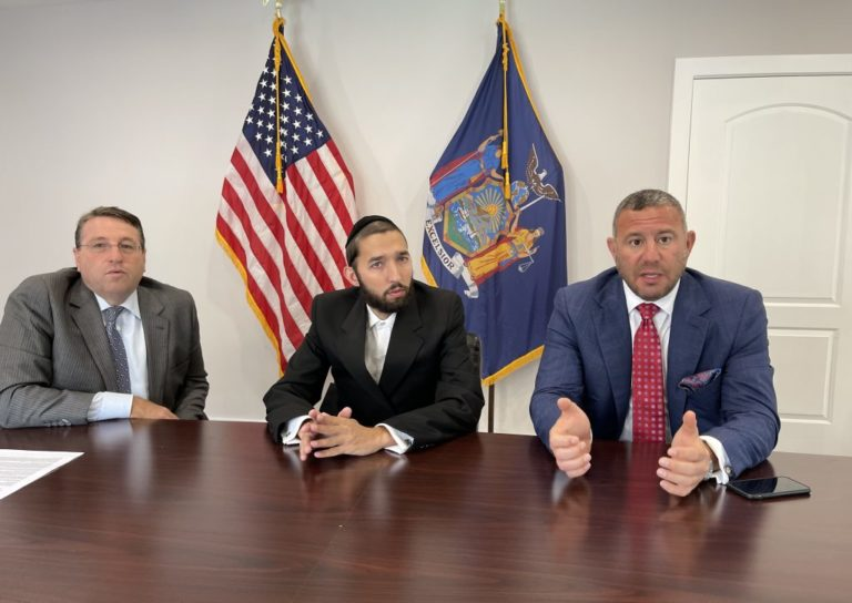 Assemblyman Simcha Eichenstein, Law Firm Announce A New Civil Lawsuit Initiative To Bring Perpetrators Of Hate Crimes To Justice