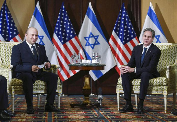 Israeli Leader Meets With Biden As Mideast Tensions Grow